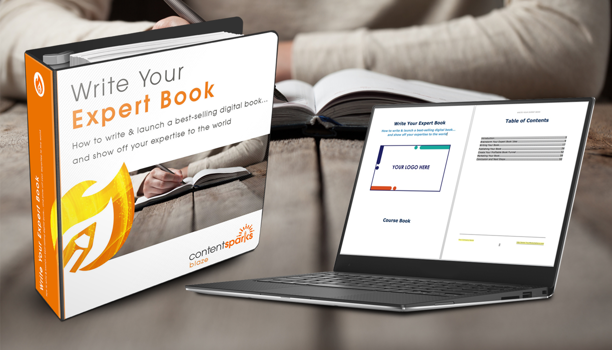 How To Make A Book Kit : How to write a book build your expert reputation