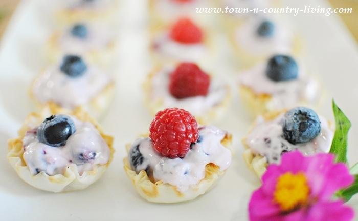 Mini Cream Cheese Fruit Tarts Recipe