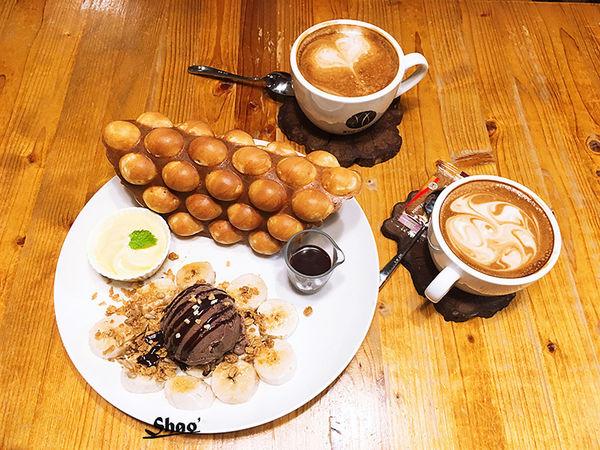 Well CAFE' 唯 · 午茶記憶。東區平價下午茶。必點雞蛋仔Q彈好吃