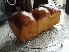 Photo: 3 in 1 ontbijt brood, elk stuk een spiraal met een andere vulling