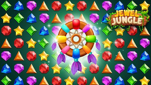 Jewels Jungle Treasure : Match 3  Puzzle apktram screenshots 7