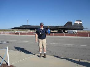 Photo: John T. & Camilla SDO with the SR-71 Blackbird