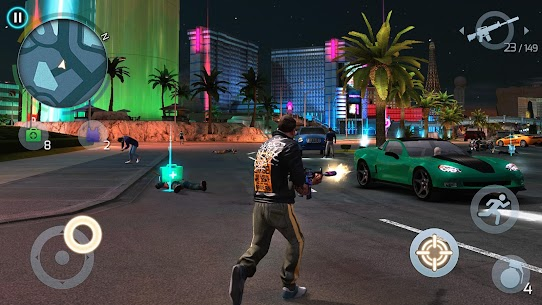Gangstar Vegas: World of Crime Apk Download For Android and iPhone 6