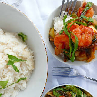 Super Speedy Spicy Sweet and Sour Shrimp.