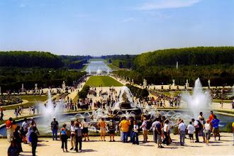 Photo: #022-Le parc du château de Versailles - La perspective sur le Grand Canal