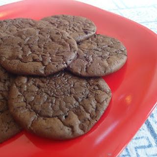 Flourless Fudge Cookies.