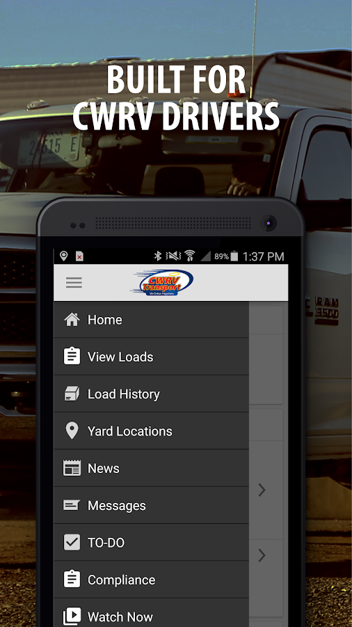 CWRV Transport- screenshot