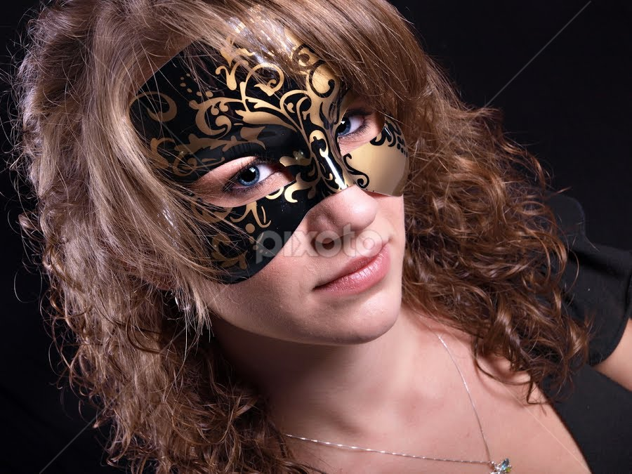 mask by William Brothers - People Portraits of Women