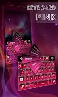 Screenshot of Pink Hot Keyboard