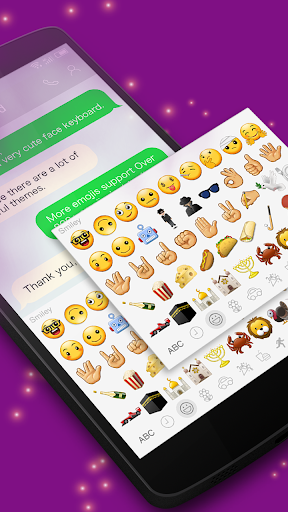 New Color Emoji for Galaxy-One