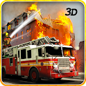 Extreme Rescue Fire Truck 3D icon