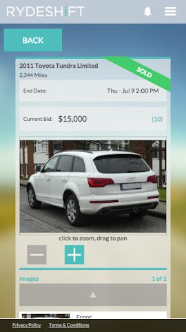 android RydeShift Screenshot 0