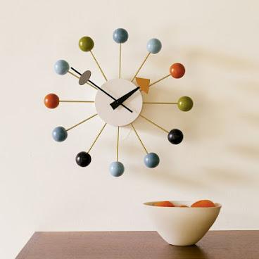 BALL CLOCK   DESIGNER REPRODUCTION