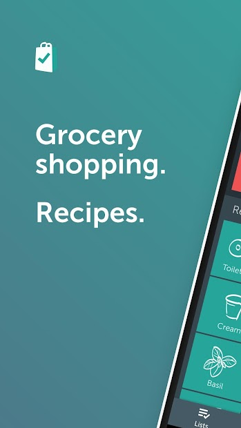 Bring! Grocery Shopping List Android App Screenshot