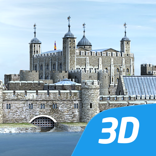 Tower of London interactive educational VR 3D Icon