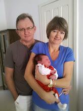 Photo: Os queridos amigos Vera e Mauri Fritzen com o Davi...