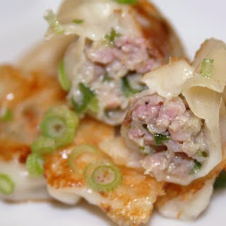 Pan Fried Pork and Chive Potstickers