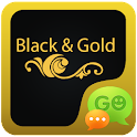 Black and Gold GOSMS PRO Theme icon