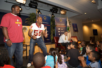 Photo: Let's Read Let's Move! AD & Chris Draft