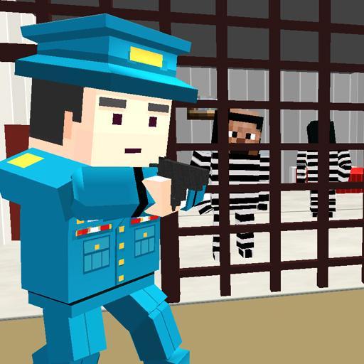 American Jail Break - Block Strike Survival Games