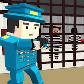 American Jail Break - Block Strike Survival Games
