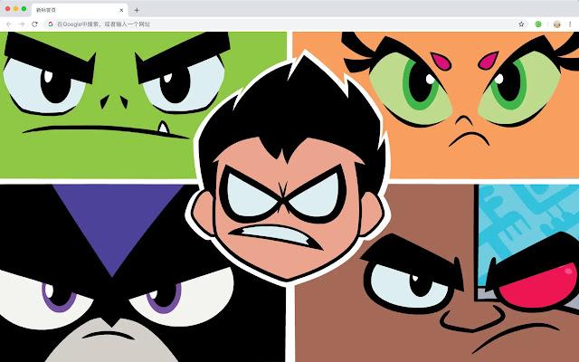 Teen Titans  New Tab DC HD Wallpapers Theme