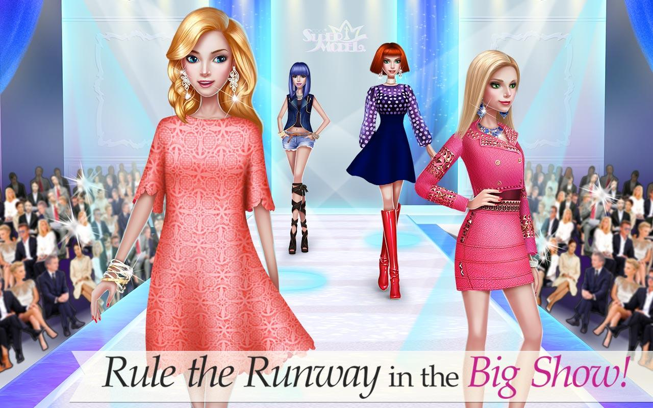 Supermodel star fashion game android apps on google play Play new fashion style games