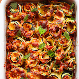 Zucchini Lasagna No Noodles Vegetarian Recipes