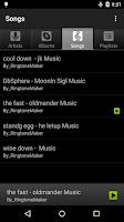 Screenshot of Music Player Free
