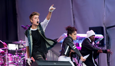 Photo: OSLO, NORWAY - MAY 30: Justin Bieber performs live at the Opera House on May 30, 2012 in Oslo, Norway.  (Photo by Ian Gavan/Getty Images for Universal)