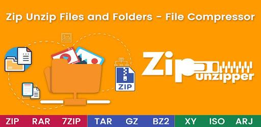 Zip Unzip Files and Folders - File Compressor - by SR International
