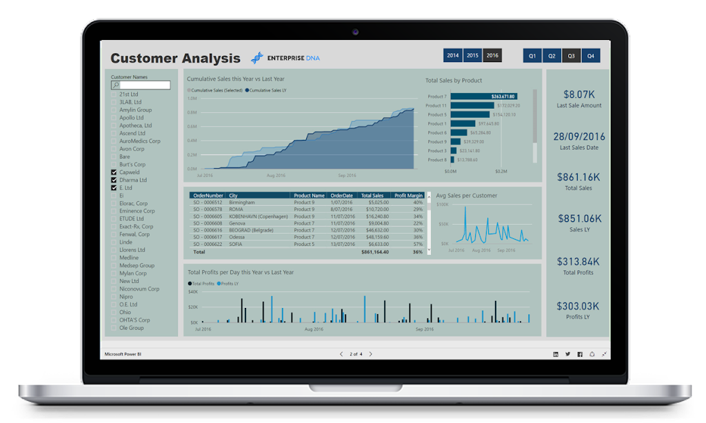 Customer Analytics in Power BI
