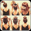 Hair Style   Girls   Woman icon