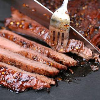 Asian Style Flank Steak