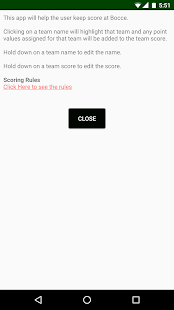 Bocce Score Keeper - náhled