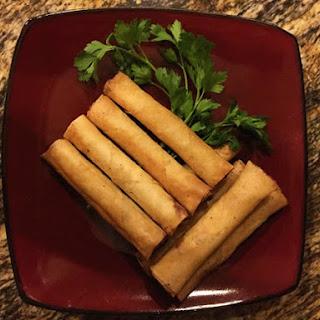Shrimp and Pork Spring Rolls (Lumpia Shanghai) Recipe