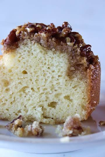 Pecan Updside Down Bundt Cake Recipe - Practically Homemade