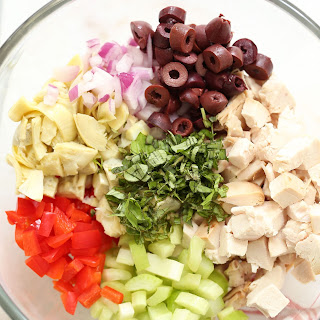 Healthy Italian Chicken Salad