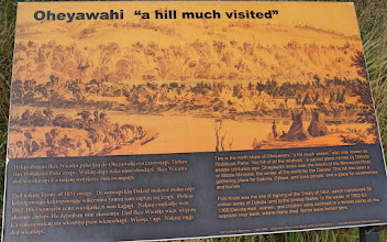 Photo: Explanations of the native American names for Pilot Knob