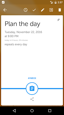 Memorigi: Todo List, Task List - screenshot