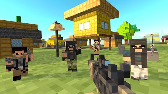 Blocky Strike Pixel Shooting - náhled