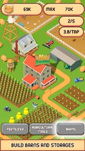 Country Village Farm Idle Clicker Game - náhled
