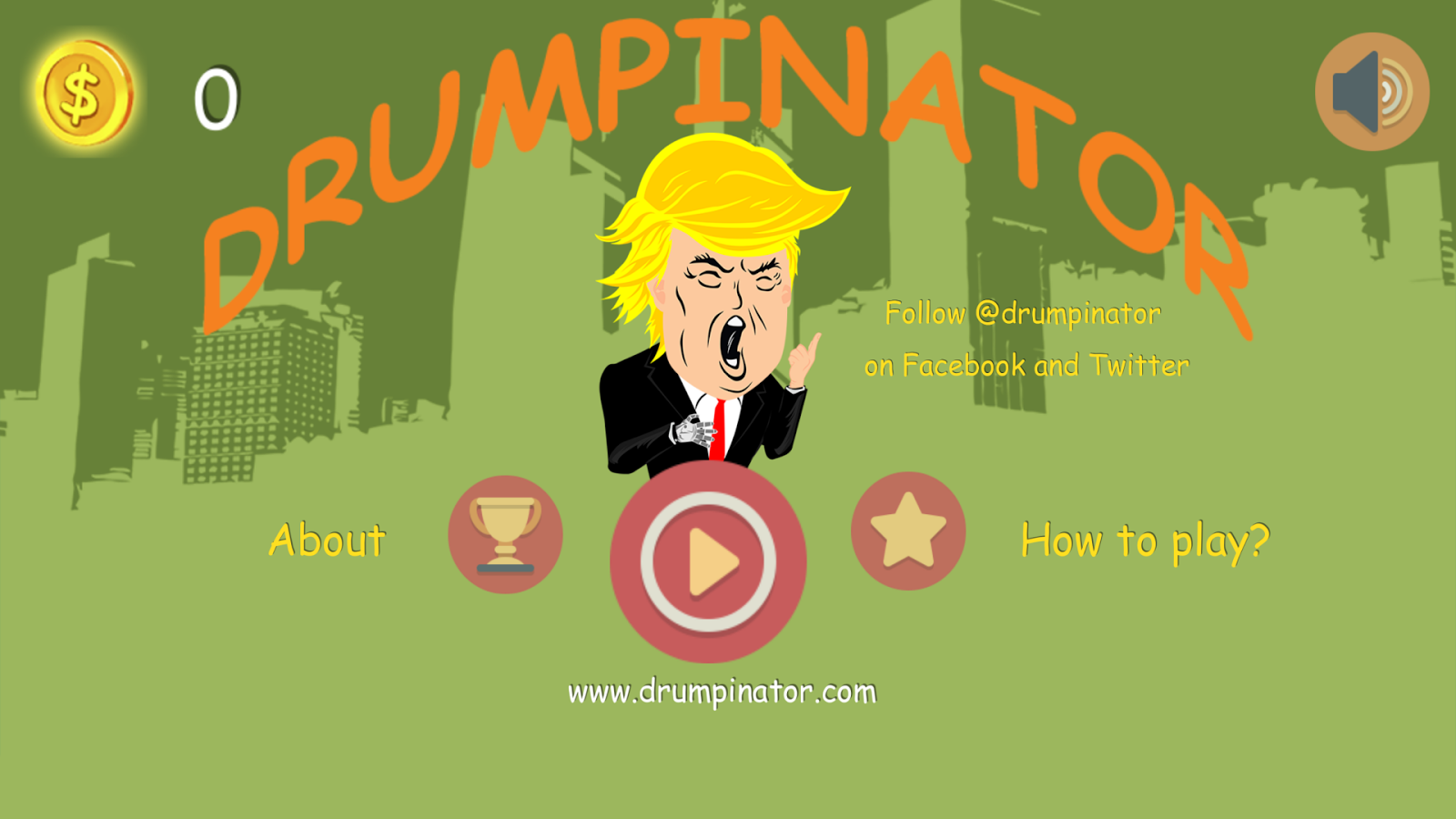 Drumpinator- screenshot