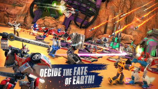 TRANSFORMERS: Earth Wars (MOD, Damage/God Mode) v11.0.0.825 1