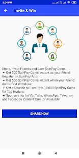 App SpinPayApp - Earn Free Paytm, Paypal Cash APK for Windows Phone