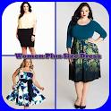 Women plus Size Dress icon