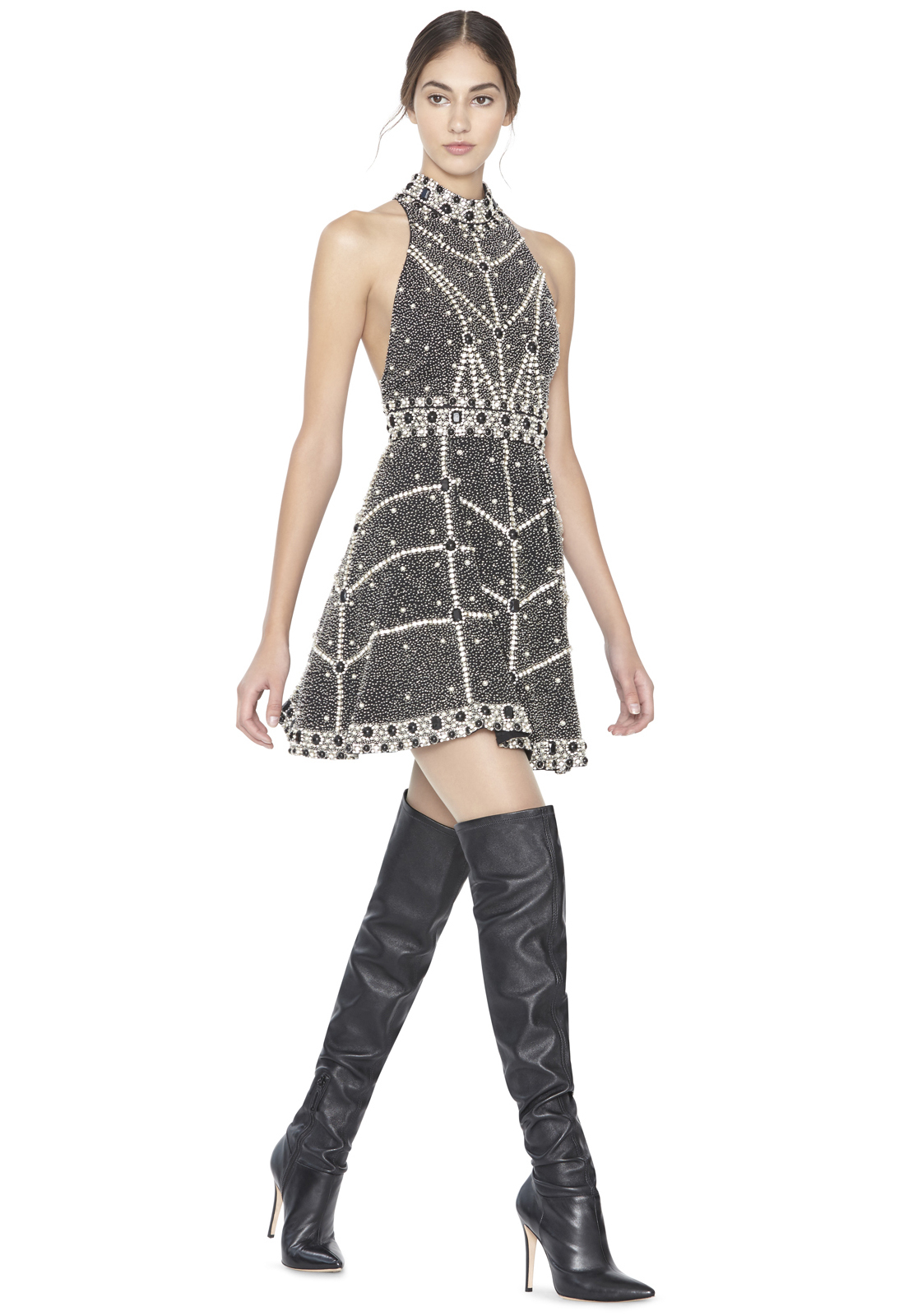 alice-olivia-black-silver-hollie-high-neck-embellished-short-flare-gown-black-product-4-819118901-normal
