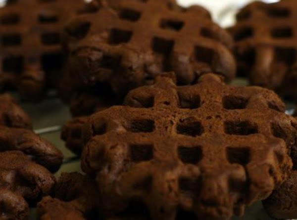 Waffle      Iron   (easy!)     Triple Chocolate Brownies ! Recipe