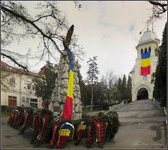 Photo: Piata 1 Decembrie 1918 - spatiu verde din fata Catedralei Ortodoxe - 2017.12.07