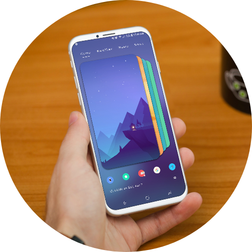MaterializedHome for KLWP APK Cracked Download